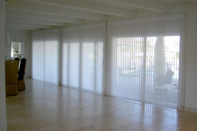 Vertical express motorized window shades luminettes for Hunter douglas motorized shades