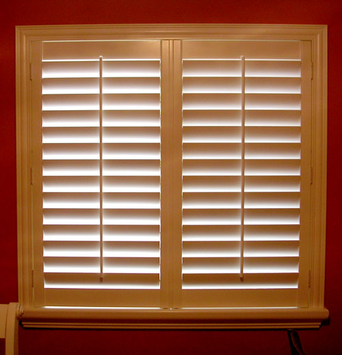 Vertical Express Motorized Window Shades Plantation