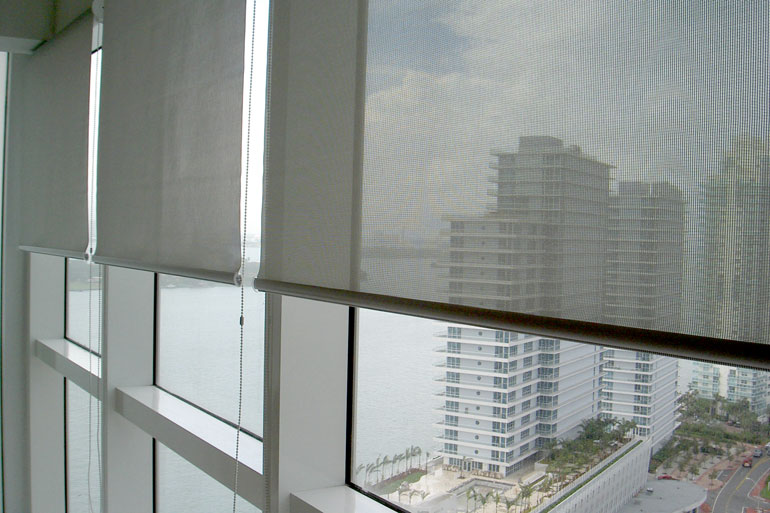 Vertical Express: Motorized Window Shades - Roller Shades |